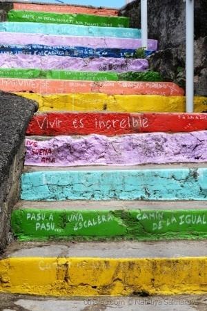 /As escadas de Ribadesella