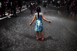 Fotojornalismo/Festival da água em Tóquio