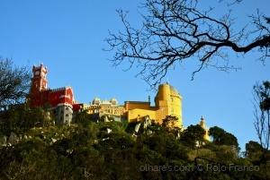História/Palácio da Pena (de costas)