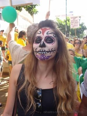 """Fotojornalismo/A máscara - """"Indig(nação)"""" - Queremos Lula preso"""