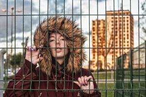 Retratos/o frio na cidade