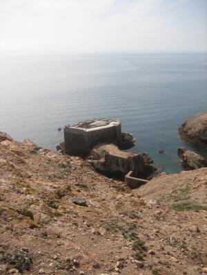 Paisagem Natural/Berlengas- Forte de S. João Baptista