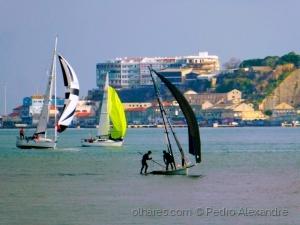 Desporto e Ação/Barcos à vela no Tejo