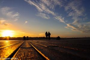 /Romance ao pôr do sol