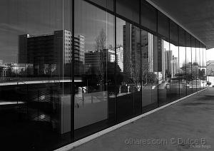Paisagem Urbana/reflexo da cidade
