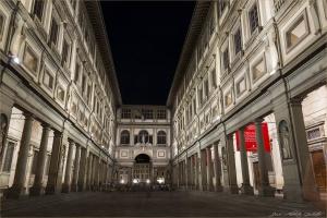 /A Galleria degli Uffizi - Florença