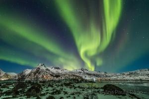 /auroras boreais noruega