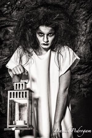 Retratos/medo do escuro