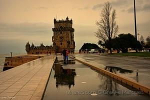 Paisagem Urbana/A Torre de Belém, é uma das sete maravilhas de Por