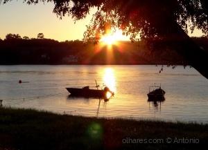 /Reflexos ao pôr do sol (ler)