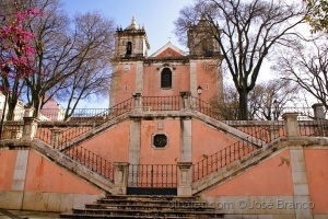 """Gentes e Locais/""""Igreja de Santos-o-Velho.."""""""