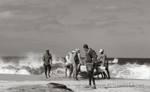 Gentes e Locais/Praia de São Pedro B & W