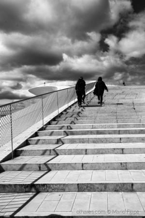"""Paisagem Urbana/""""Stairway to Heaven""""   ( ler )"""