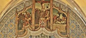 /Interior da igreja de N. Sra. do Pópulo (Caldas da