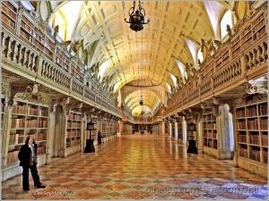 /Biblioteca do Palácio Nacional de Mafra