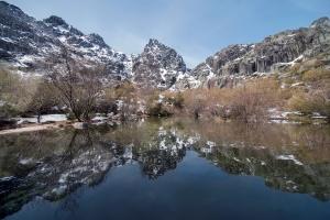 /A montanha e o seu reflexo