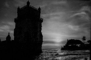 /The majestic tower of Belem