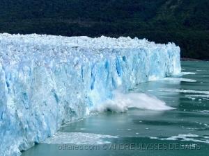 /Queda de bloco - Glaciar perito Moreno