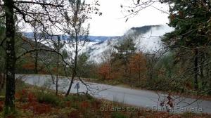 /O nevoeiro vai subindo a serra