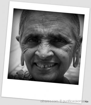 /Um sorriso do Rajastão!!