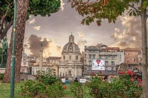 Paisagem Urbana/  Igreja do Santíssimo Nome de Maria al Foro Traia