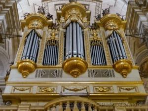 /Órgão da catedral de Jaén