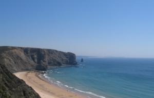 /No Alentejo uma bela praia