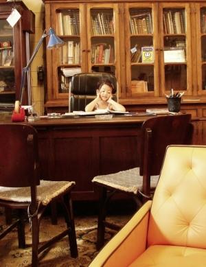Retratos/Garota em Gabinete de Leitura