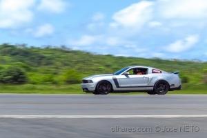 /Mustang em ação