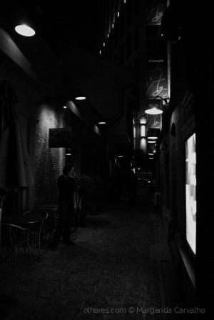 Paisagem Urbana/No calor da noite