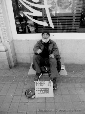 Fotojornalismo/Pobre, mas não no pedir  (ler)