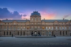 Paisagem Urbana/Final de tarde em Paris