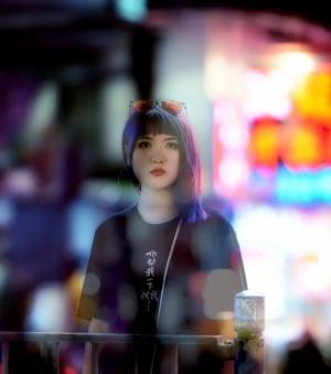 Retratos/Hong Kong Girl