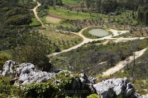 /Vista da Capela de N. S. da Estrela (Redinha)