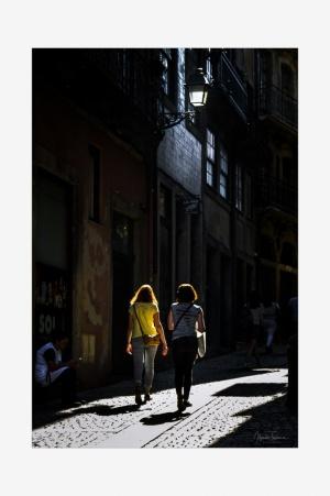 Outros/ Exploring the Ribeira, in Porto.