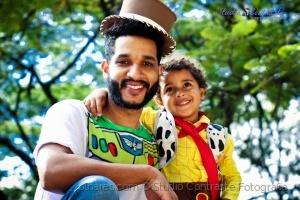 Retratos/Bê e familia