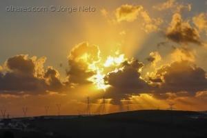 /Mais um Pôr do Sol!