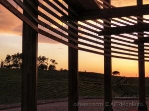 /Quinta do Encontro ao pôr do Sol.
