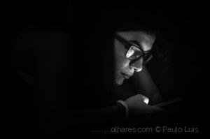 /A única luz...
