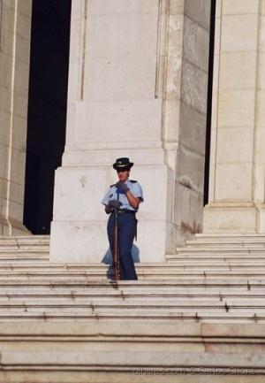 /Guarda de honra em pose