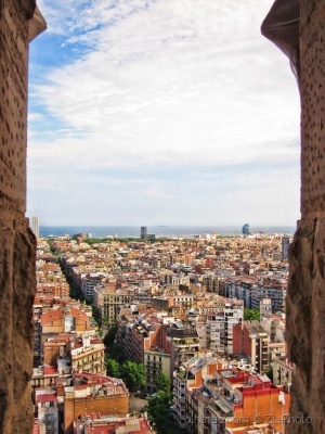 /A view of Barcelona