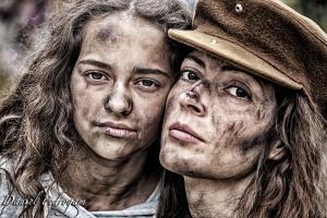 Retratos/filhas da guerra