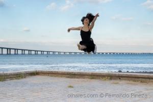 /A bailarina voadora!