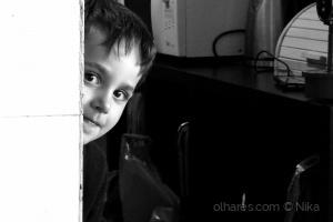 Retratos/jogo das escondidas