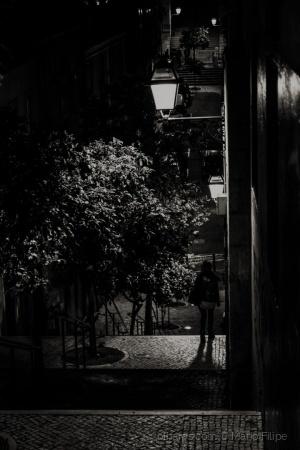 """/Lisboa """"E ao anoitecer """"( ler )"""