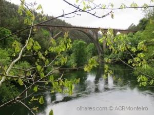 Paisagem Natural/Ponte do Poço de Santiago.