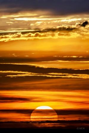 Paisagem Natural/'autumnal sunset'
