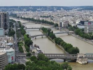 /As pontes do Rio Sena!