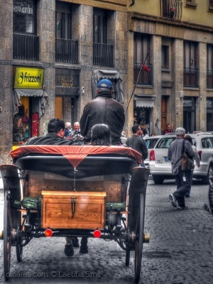 /leather coat... Florence, Italy