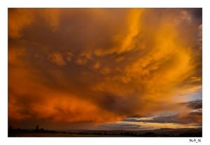 /A grande nuvem Vermelha